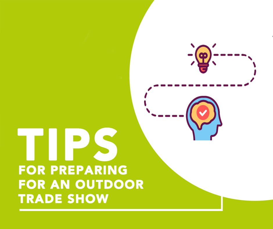 Prepare for a right outdoor exhibition show