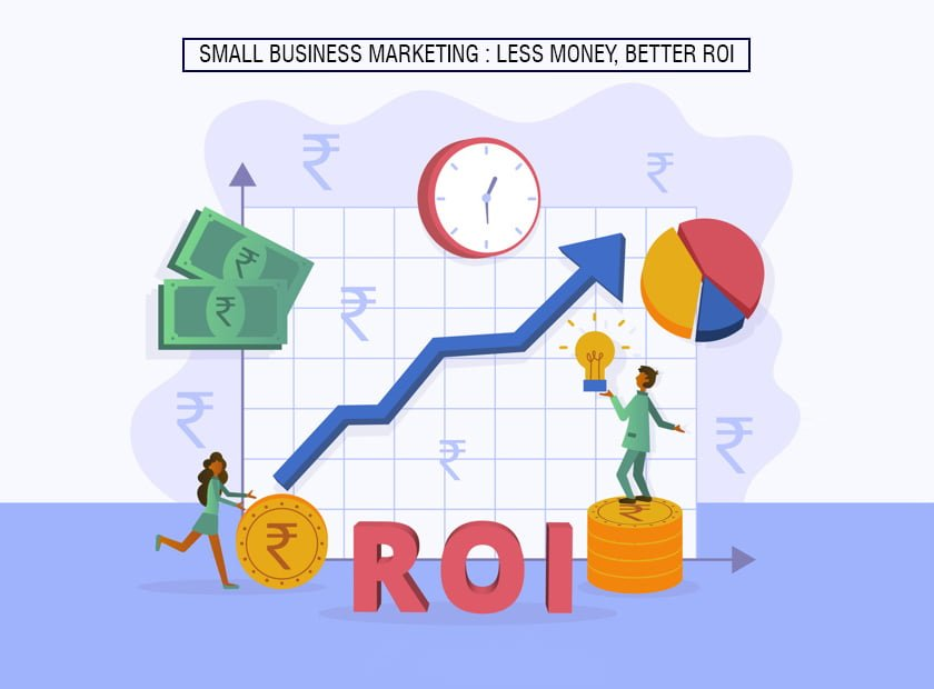 Small Business Marketing : Less Money, Better ROI