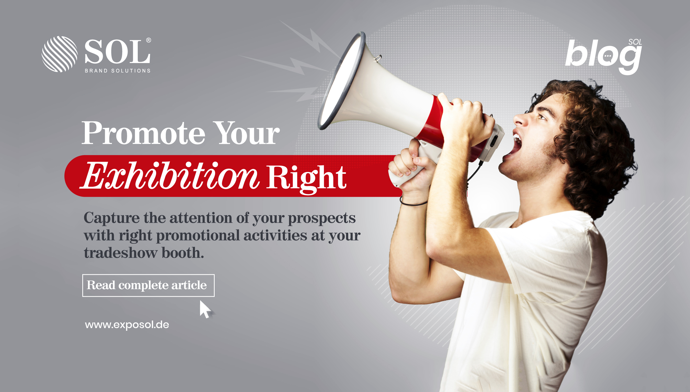 How to Promote your Exhibition Stall before a Tradeshow