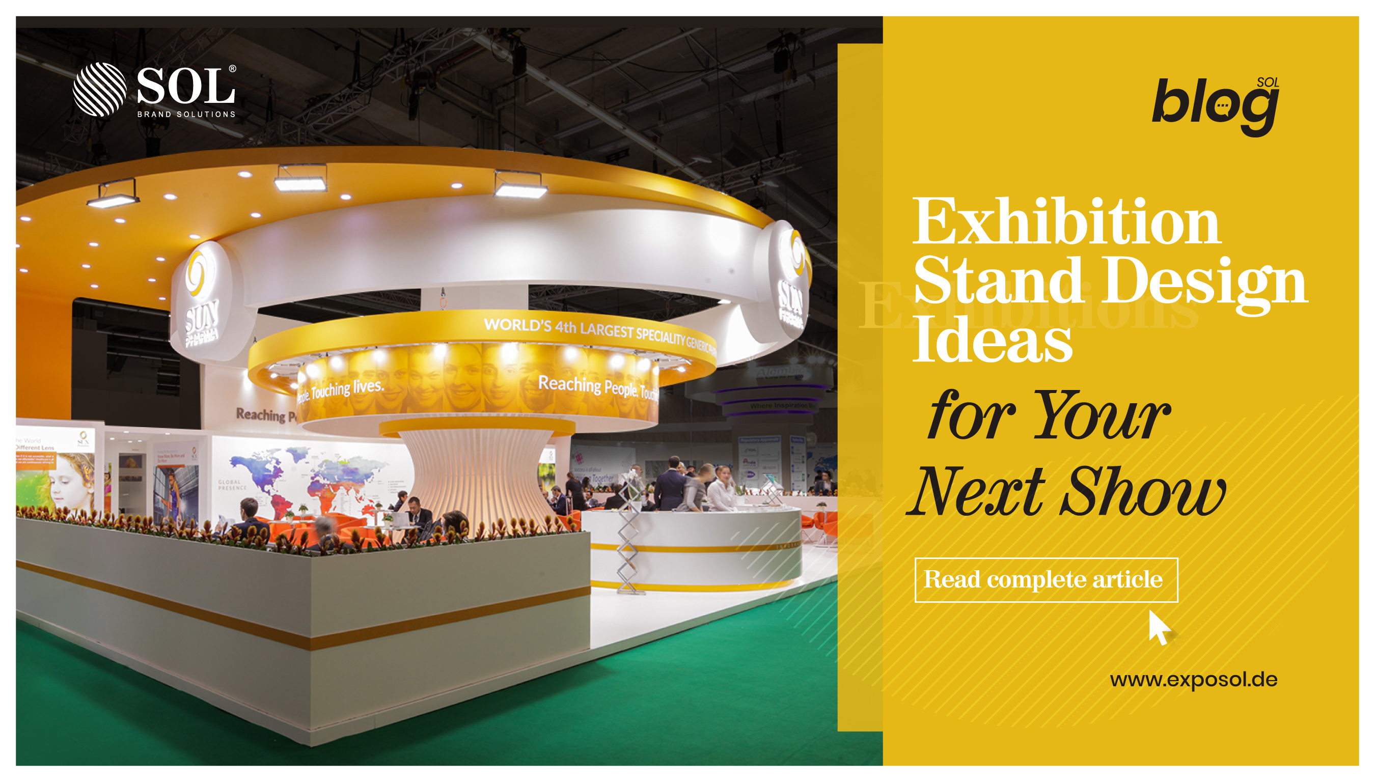 Exhibition Stand Design Ideas to Attract More Visitors