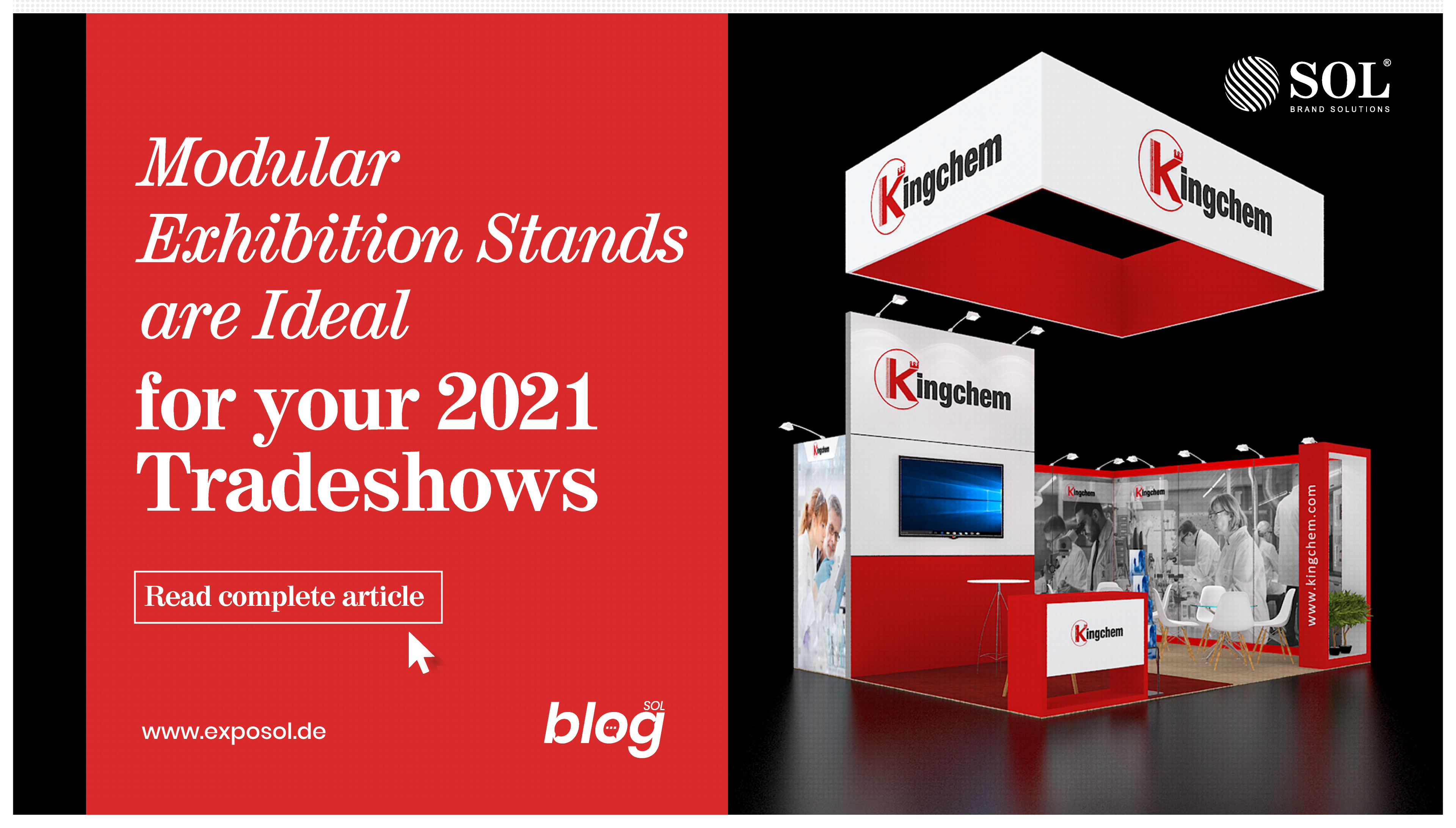 Why a Modular Exhibition Stand is Ideal for Your Exhibition in 2021