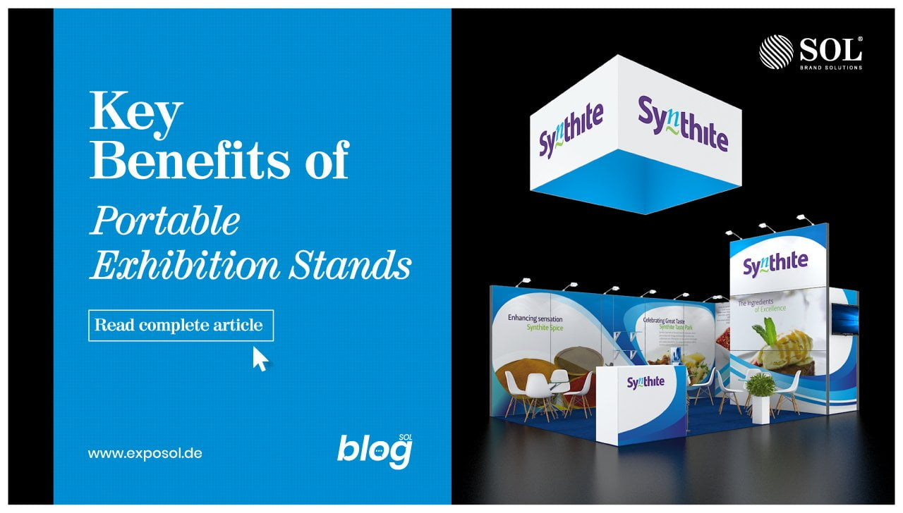 Benefits of Portable Exhibition Stands