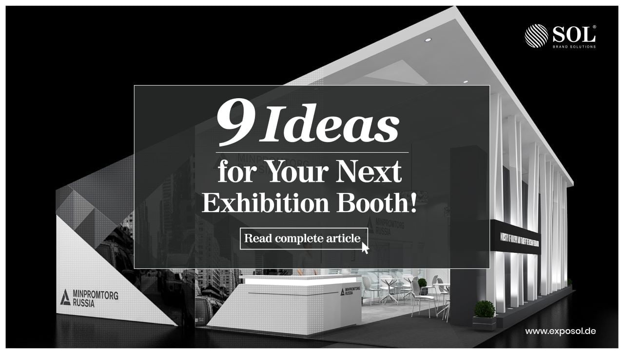 The Top 9 Must Read Creative Exhibition Booth Ideas